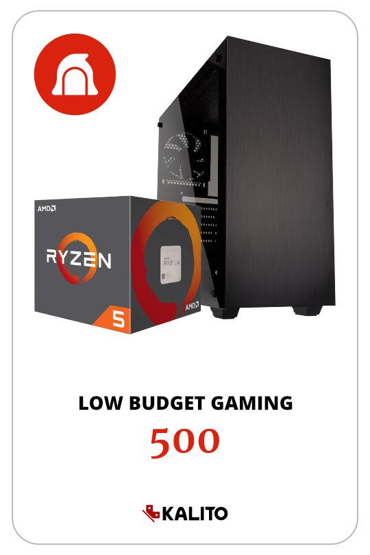 Low Budget Gaming PC 1