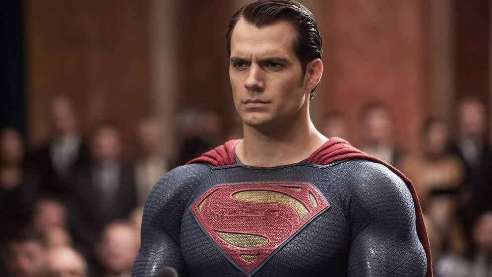 Henry Cavill in Batman v Superman the witcher